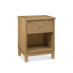 Pacific Oak - One Drawer Nightstand