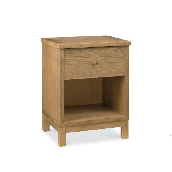Pacific Oak - One Drawer Nightstand