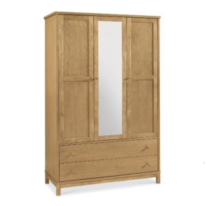 Pacific Oak - Triple Wardrobe