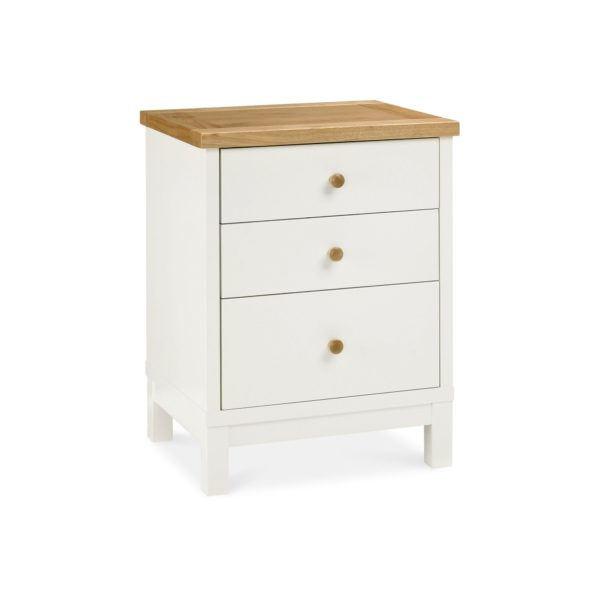 Pacific Two Tone - Three Drawer Nightstand