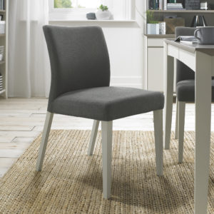 Calcot Grey – Uph Chair – Titanium Fabric