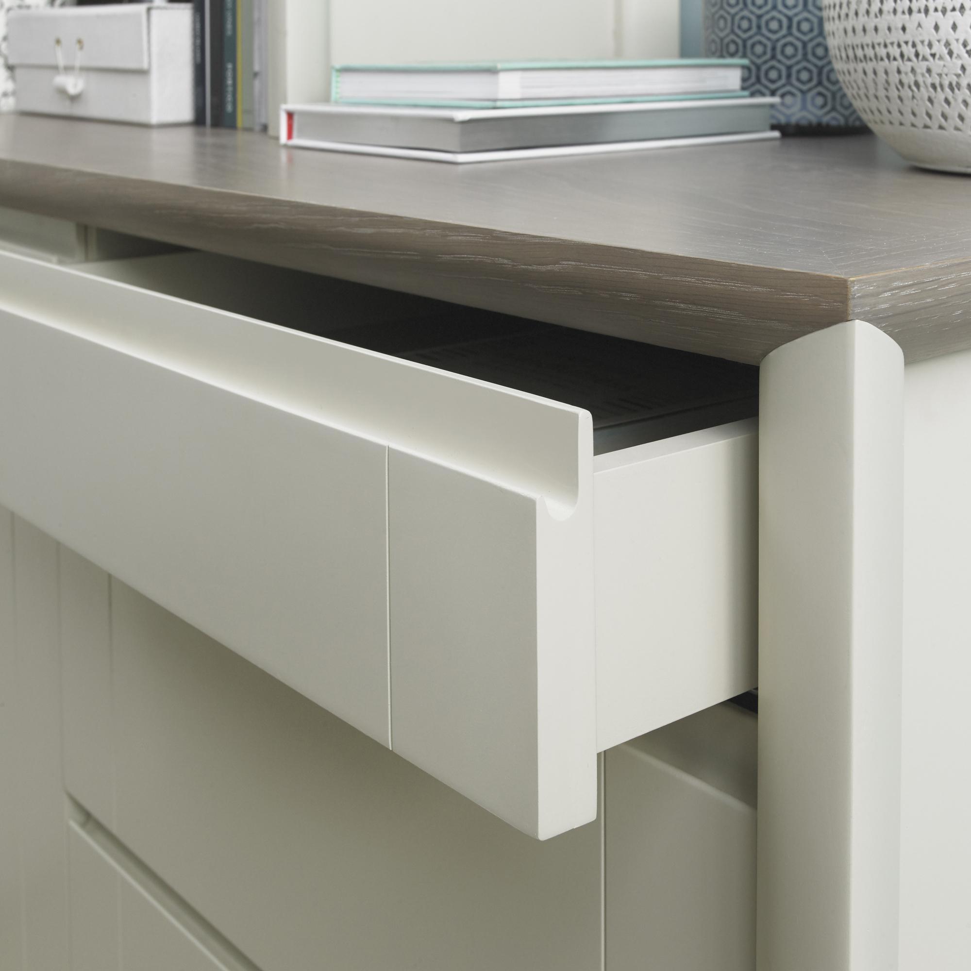 Calcot Grey - Wide Sideboard