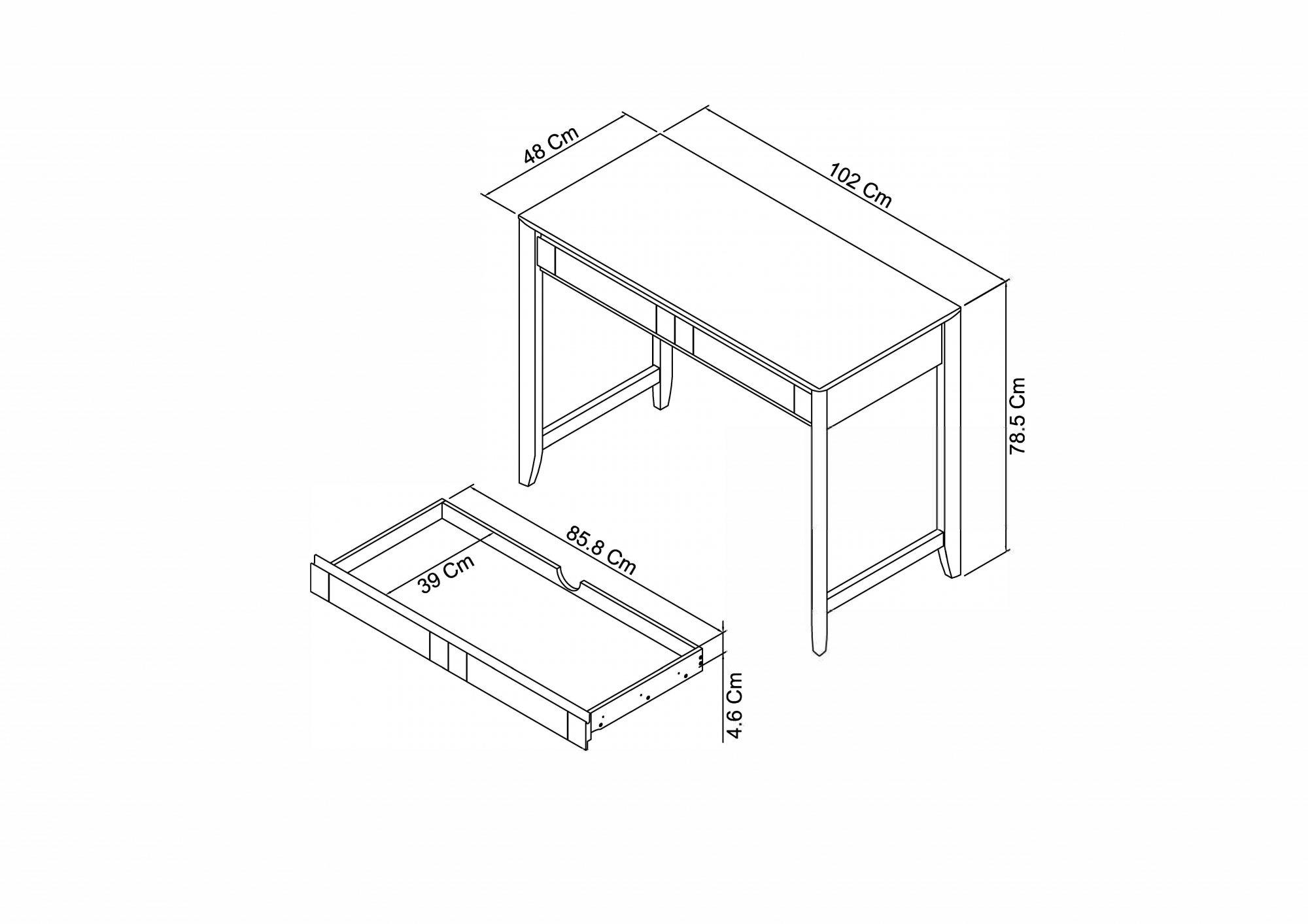 Calcot Grey - Desk