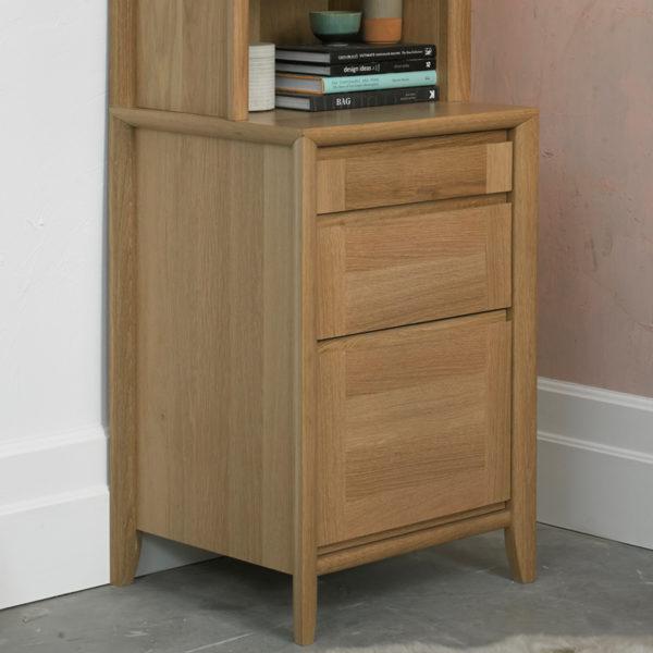 Calcot Oak - Filing Cabinet