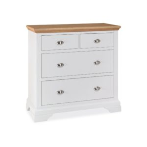 Genoa Two Tone - 2+2 Drawer Chest