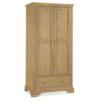 Genoa Oak - Double Wardrobe