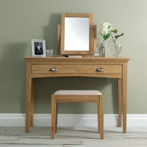 Genoa Oak Dressing Table Room
