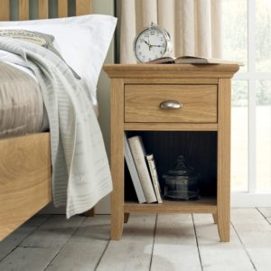 Genoa Oak - One Drawer Nightstand