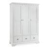 Genoa White - Triple Wardrobe