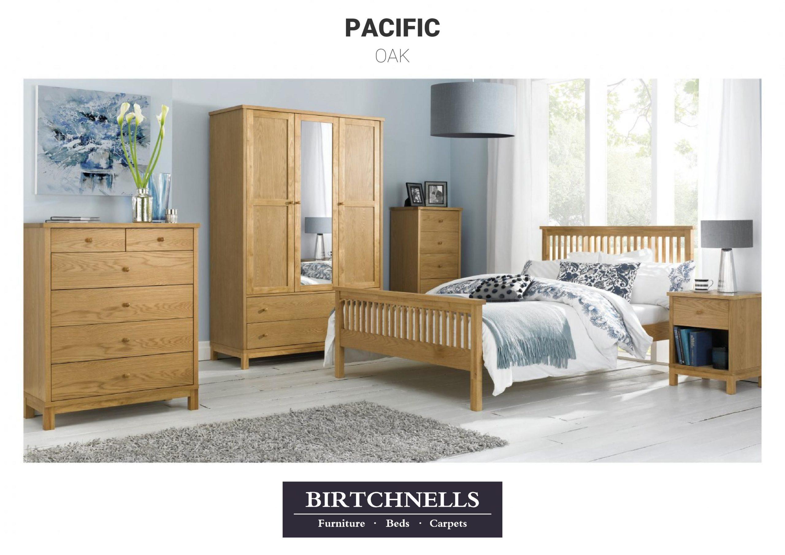 Pacific Oak Bedroom