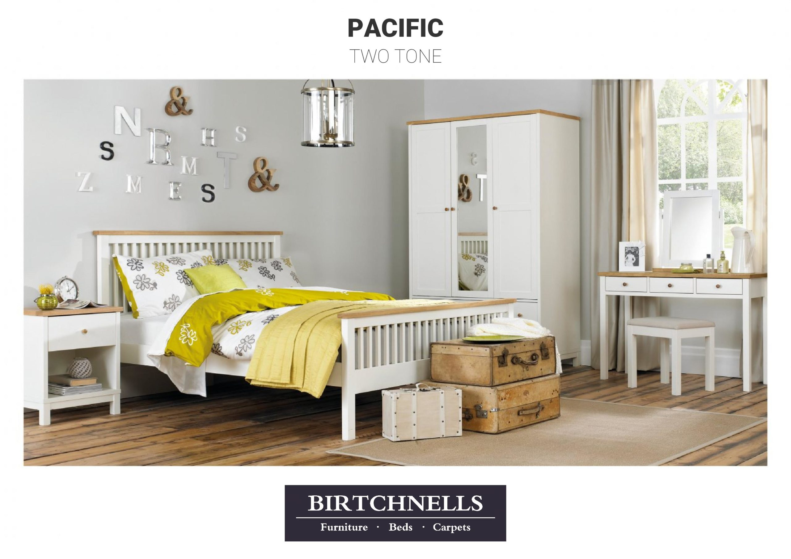 Pacific Two Tone Bedroom