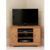 Sorrento Corner TV Unit - Oak