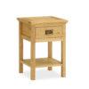 Sorrento Lamp Table - Oak