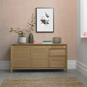 Calcot Oak - Wide Sideboard
