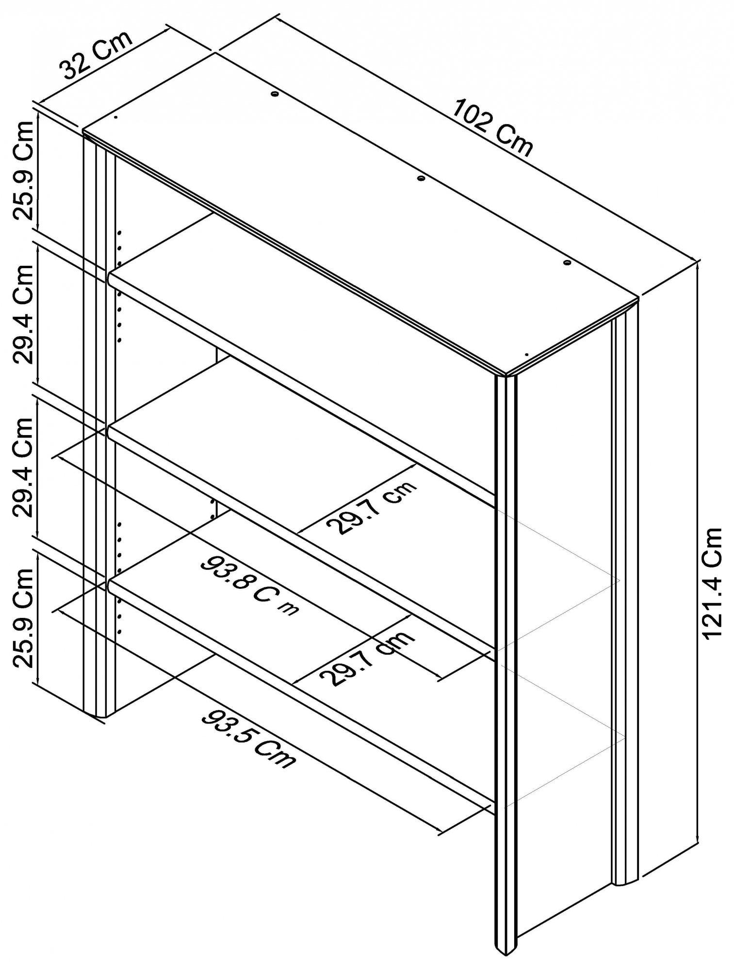 Calcot Oak - Wide Top Unit