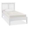 Genoa White Single Bedstead